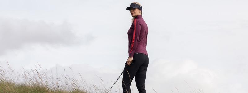 Golftröjor dam
