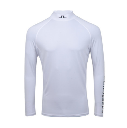 J Lindeberg Golf Aello Soft Compression White