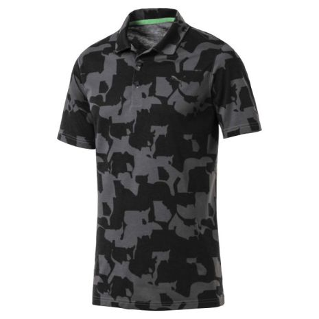 Puma Golf Union Camo Polo Iron Gate