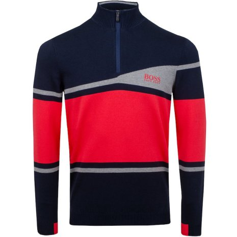 Hugo Boss Golf Zinger Golftröja Navy