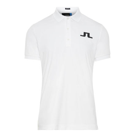 J Lindeberg Golf Big Bridge Reg TX Jersey Vit/Navy