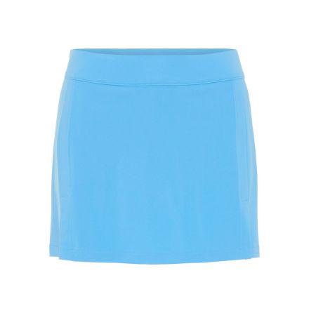 J Lindeberg W Amelie TX Jersey Skirt Ocean Blue