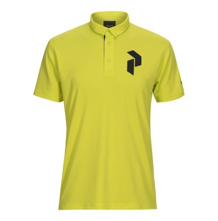 Peak Performance Golf Panmore Polo Lime