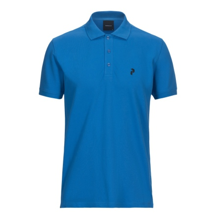 Peak Performance Golf Classic Pique Blue Bird