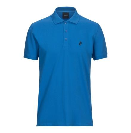 Peak Performance Golf Classic Pique Blue Bird