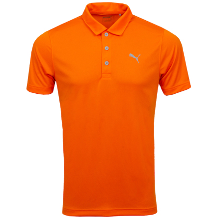 Puma Golf Rotation Polo Orange