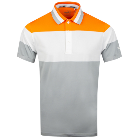 Puma Golf Ninties Polo Orange