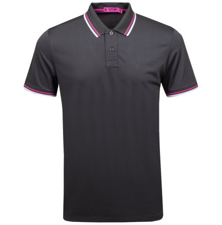 G/Fore Core Tipped Polo Svart