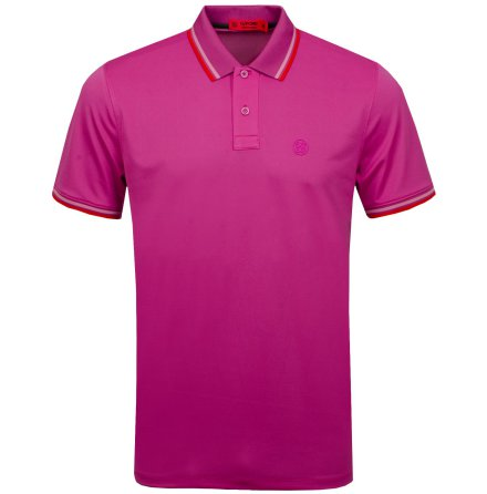 G/Fore Core Tipped Polo Rosa