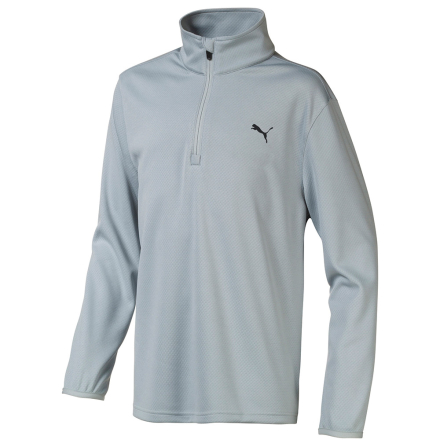 Puma Golf 1/4 Zip Golftröja Junior Grå
