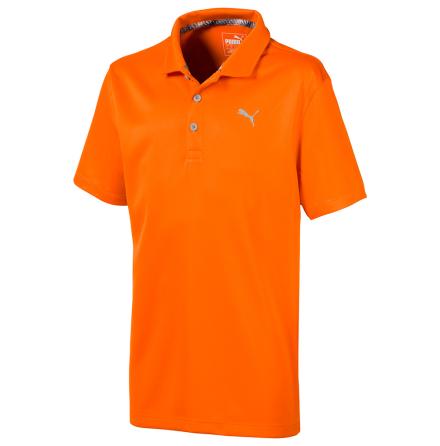 Puma Golf Essential Polo Junior Orange