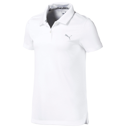 Puma Golf Essential Polo Flickor Vit
