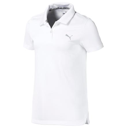 Puma Golf Essential Polo Flickor Vit