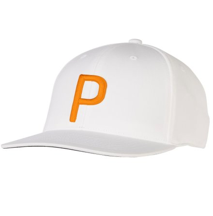 Puma Golf P110 Snapback Cap White/Orange