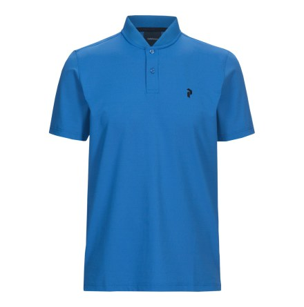 Peak Performance Golf Austin Polo Blue Bird