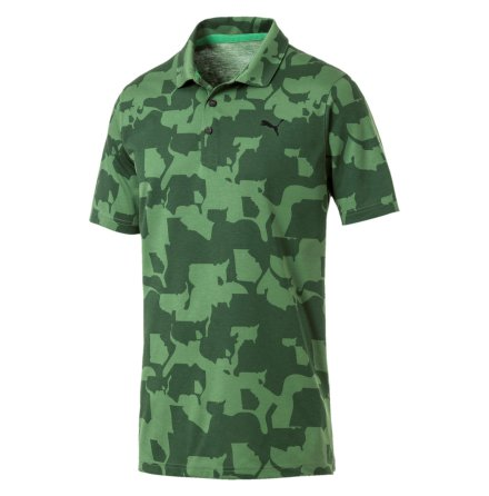 Puma Golf Union Camo Polo Junior