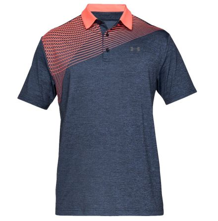 Under Armour Golf Playoff Polo 2.0 Navy/Rosa
