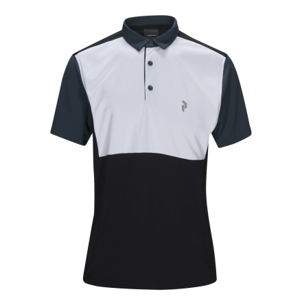 Peak Performance Golf Race Tour Polo Black