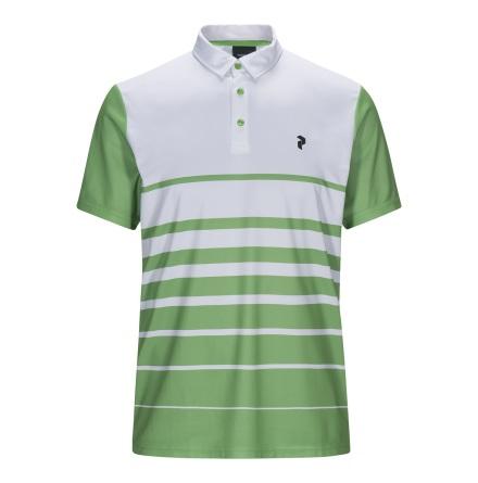 Peak Performance Golf Bandon Print Polo Grön