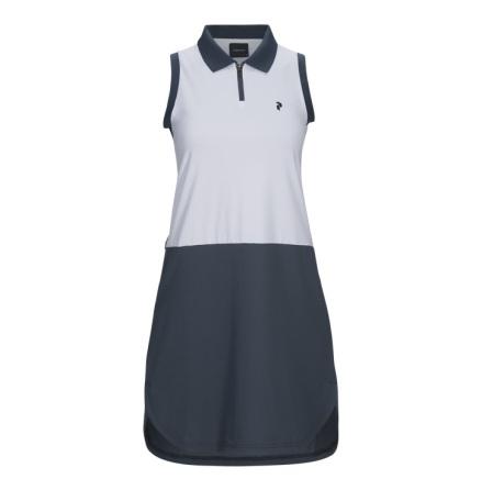 Golfklänning - Peak Performance Golf Blocked Dress Vit
