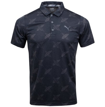Puma Golf Alterknit Palms Polo Svart