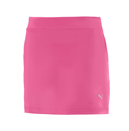 Puma Golf Girls Solid Knit Skirt Fuchsia
