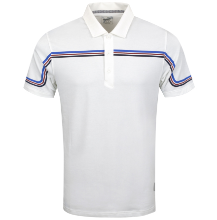 Puma Golf Looping Polo Vit