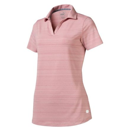 Puma Golf W Coastal Polo Rosa