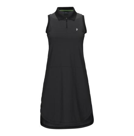 Golfklänning - Peak Performance Golf Blocked Dress Black