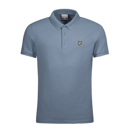 Lyle & Scott Golfpiké Mist Blue