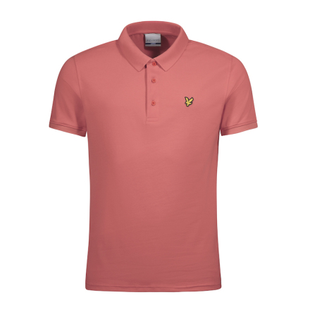 Lyle & Scott Golfpiké Sunset Pink