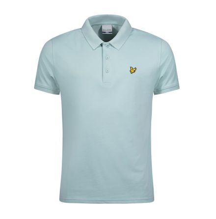 Lyle & Scott Golfpiké Powder Blue