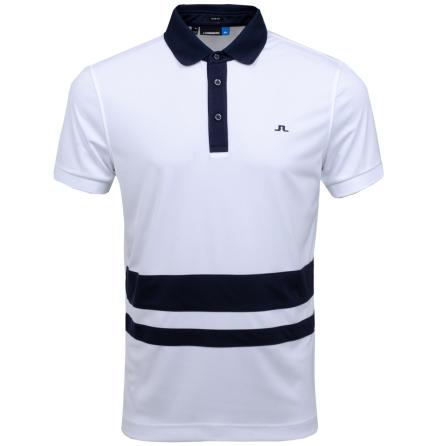 J Lindeberg Golf Lucas TX Jersey White