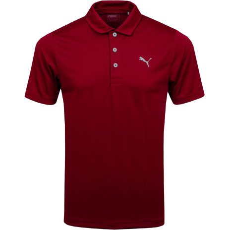 Puma Golf Rotation Polo Rhubarb