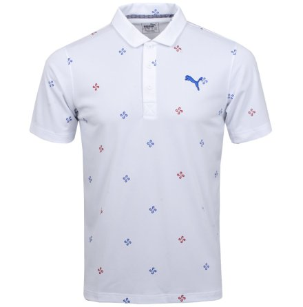 Puma Golf Ditsy Polo