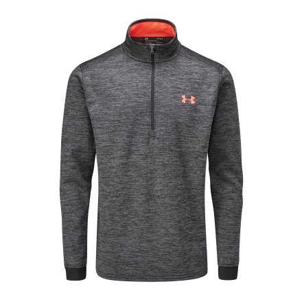 Under Armour Fleece 1/2 Zip Svart