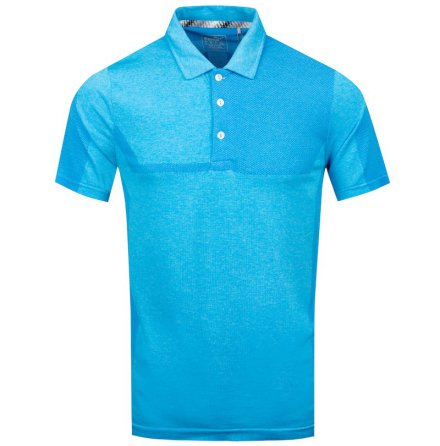 Puma Golf Evoknit Breakers Polo Bleu Azur