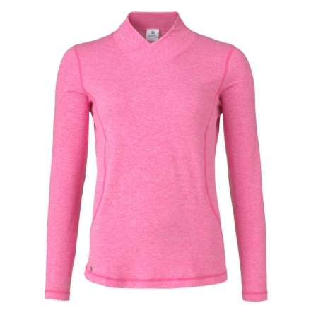 Daily Sports Agnes L/S Mock Cerise