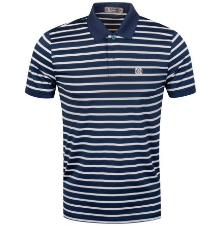 G/Fore Wide Stripe Polo