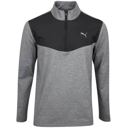 Puma Golf Preston 1/4 Zip Svart