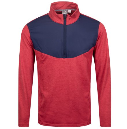 Puma Golf Preston 1/4 Zip Rhubarb