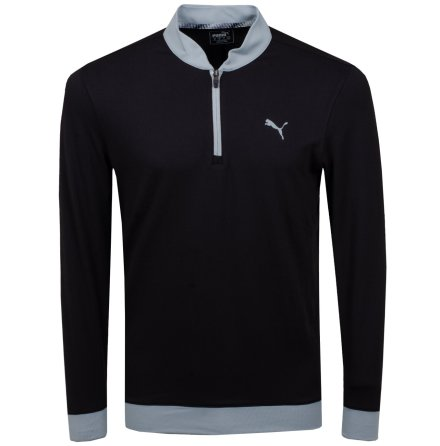 Puma Golf Stealth 1/4 Zip Svart
