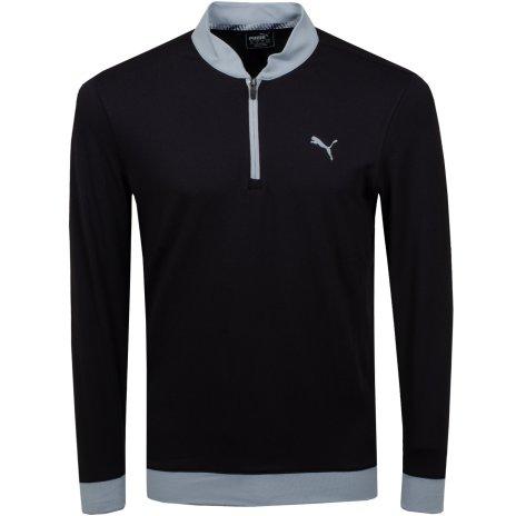 Puma Golf Stealth 1/4 Zip Svart
