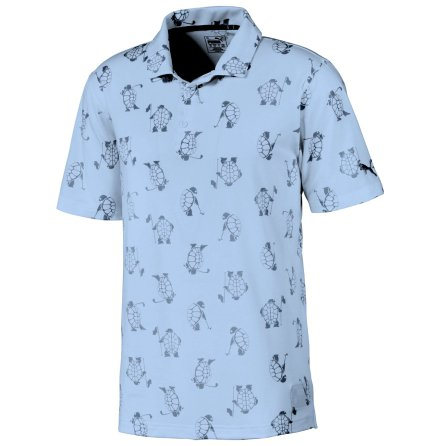 Puma Golf Slow Play Polo Blue Bell - Limited Edition