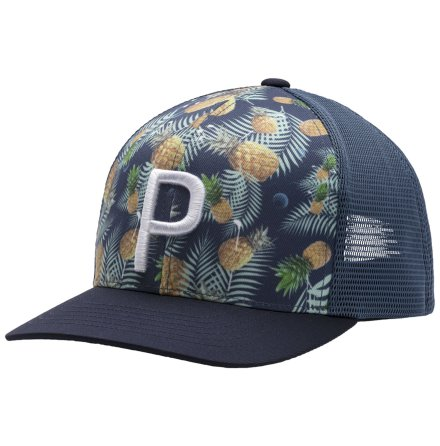 Golfkeps Puma Golf Trucker P 110 Pineapple Limited Edition