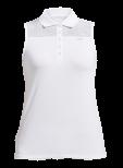 Röhnisch Golf Miko Sleeveless Poloshirt Vit