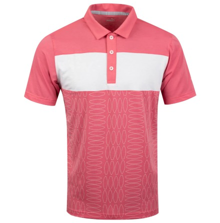 Puma Golf Turfs Up Polo Rose