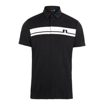 J Lindeberg Golf Clark TX Jersey Svart