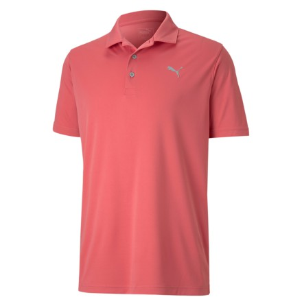 Puma Golf Rotation Polo Rapture Rose