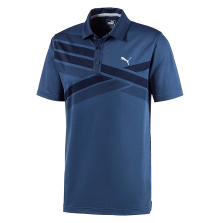 Puma Golf Alterknit Texture Polo Marin
